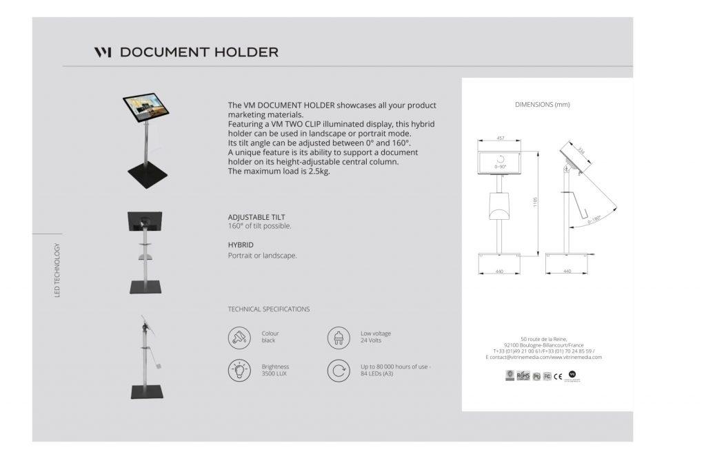 Document-holder